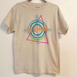 GOODIE TWO SLEEVES Def Leppard Graphic Tee 14 NWT